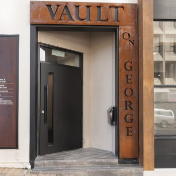 Entrance to the Vault on George
